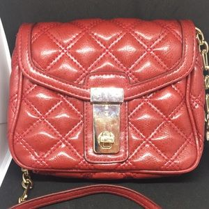Red mini crossbody bag